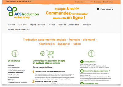 image de la boutique en ligne ACS Traduction